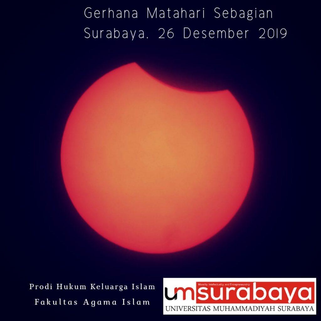 Pengamatan Publik Gerhana Matahari di UMSurabaya